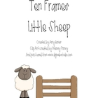 Ten Frames - Sheep Themed
