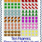 Ten Frames Throughout The Year Themed Clipart Commercial Use OK