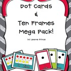 Ten Frames and Dot Cards! {math tub activities!}