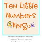 Ten Little Numbers Bingo