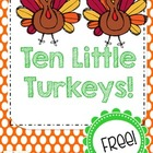 Ten Little Turkeys