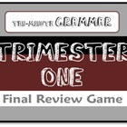 Ten-Minute Grammar T-One Final Review - Fun PowerPoint Game Show