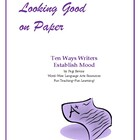 Ten Ways Writers Establish Mood--Great for personal narrat