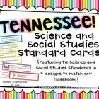 Tennessee Science and Social Studies Standards Cards