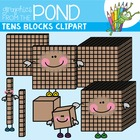 Tens Blocks - Graphics / Clipart to Make Teaching Resources