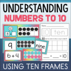 Tens Frame Centers - Hands On Activities for Recognizing &