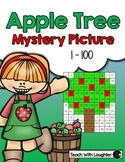 Tens and Ones Place Value Mystery Picture (Apple Tree)