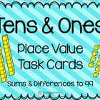 Tens and Ones {Place Value to 99} Task Cards