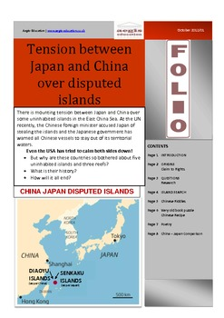 Tension between Japan and China FOLIO - Current Affairs