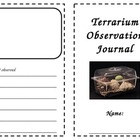 Terrarium Observation Journal {FREEBIE}