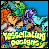 Tessellating Designs - Art & Geometry Activity