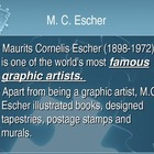 Tessellations: MC Escher and Jim McNeil