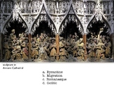 Test Art History Renaissance & Medieval 50 Multiple Choice