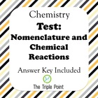 Test: Nomenclature and Chemical Reactions
