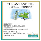 Test Passage &amp; activites: Fable, The Ant and the Grasshopper 