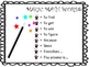 Test Prep: Magic Math Words Learning Chart and Bookmarks