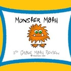 Test Prep Monster Math Game