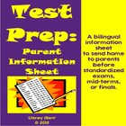 Test Prep: Parent Information Sheet