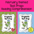 Test Prep:  Reading Comprehension - February themed