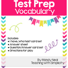 Test Prep Vocabulary