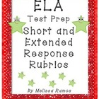 Test Prep Written Response Rubrics ELA