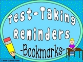 Test Taking Reminders {Bookmark Strips}