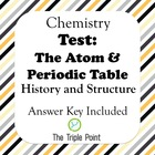 Test: The Atom &amp; Periodic Table (History &amp; Structure)