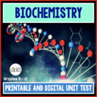 Test: The Chemistry of Biology (Biochemistry)