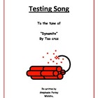 Testing Song in tune of Dynamite by Tao Cruz