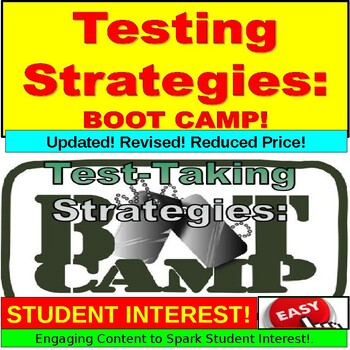 Testing Strategies : Standardized Testing Boot Camp PowerPoint