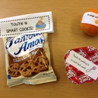Testing day treats- Orange you awesome!