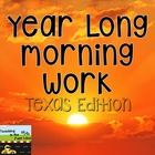 Texas 4th Grade All Year Morning Work