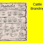 Texas History - Cattle Branding