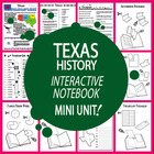 Texas History Lesson-Common Core-Audio Included!