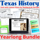 Texas History ULTIMATE BUNDLE of Every Unit