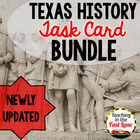 Texas History Ultimate Task Card Bundle