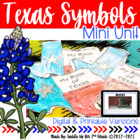 Texas Our Texas: A Texas Symbol Activity Book & Craftivity