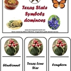 Texas Symbols domino game.