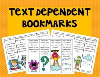 Text Dependent Bookmarks