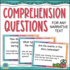 Text Dependent Questions For Close Reading - Common Core ELA