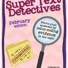 Text Detectives- Find the Text Evidence! February Edition