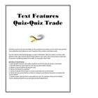 Text Features Quiz Quiz Trade