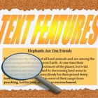 Text Features Use with any text book