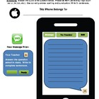 Text Message Quickwrite_FREE!!