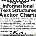 Non-Fiction Text Structure Posters (plus Text Structure fo