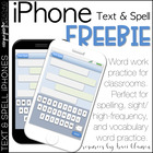 Text and Spell Word Work iPhones