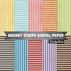 Textured Background Sheets - 10 Rainbow Stripes Patterns