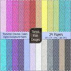 Textured Chevron Colors: Digital Background Papers