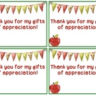 Thank You Cards for Teacher Appreciation Week