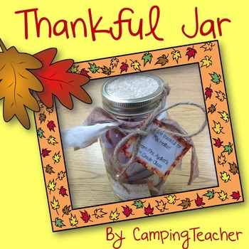 Thankful Jar {Thanksgiving Class Gift for Principal}